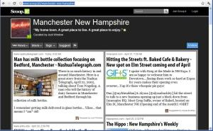Judi Window scoop it Manchester page