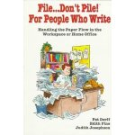 File Don't Pile cover