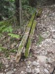 South Uncanoonuc - track remnants