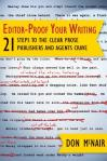 Editor-Proof Your Writing cover