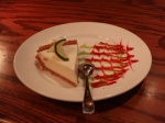 Deliciously cool key lime pie