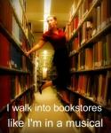 Pin Bookstore Musical