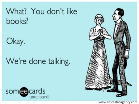 dont like books