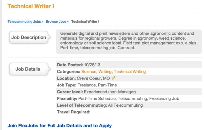 FJ Specific Job Description