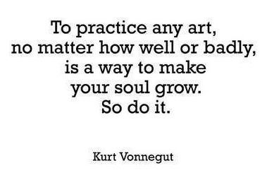 practice art vonnegut