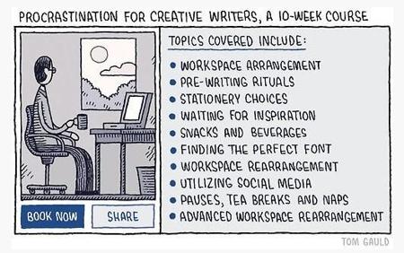 pin procrastination
