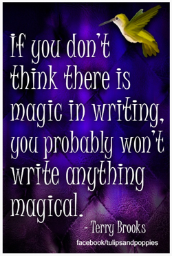 pin magic in writing