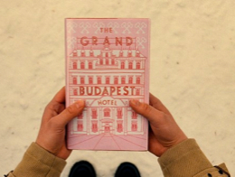 Still from Wes Anderson's movie, The Grand Budapest Hotel