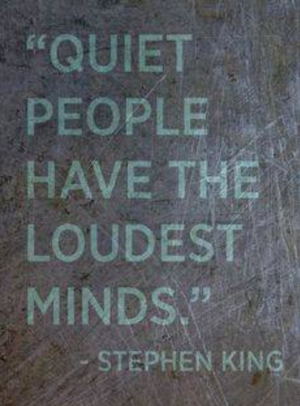 pin quiet people