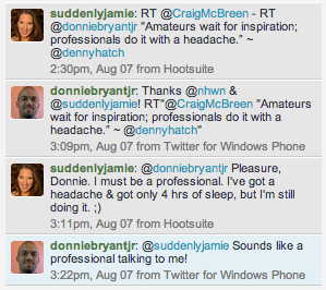tweet conv professionals