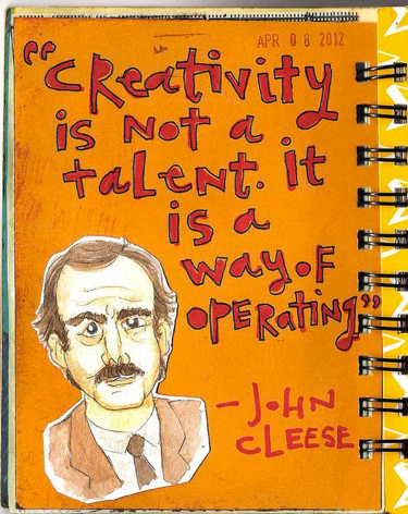 cleese creativity
