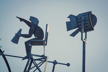 director sculpture