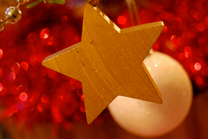 It's the holidays - give yourself a gold star for all the writing you've done this year.