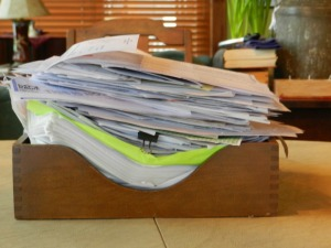 Papers to be filed