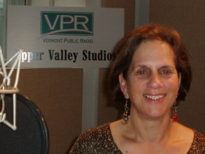Deborah Lee Luskin at VPR's Upper Valley Studio.