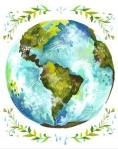 """""""Dear, Earth"""" by Katie Daisy via etsy"""