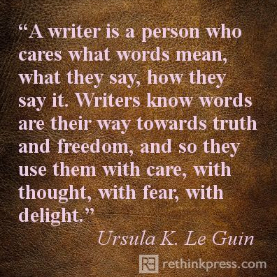 pin leguin writer is