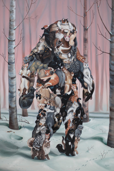 """Catsquatch"" by Shyama Golden"