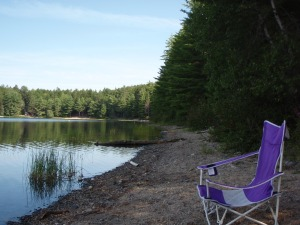 Water view seating for same Maine cabin getaway. Variety is good!