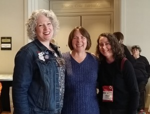 Julie Hennrikus, Lisa Haselton, Diane McKinnon at Crime Bake