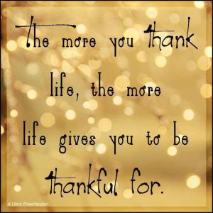 Being-Thankful