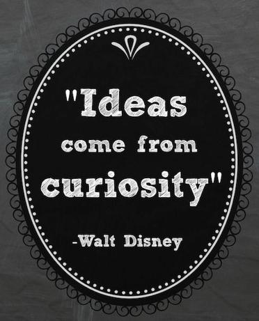 pin curiosity disney