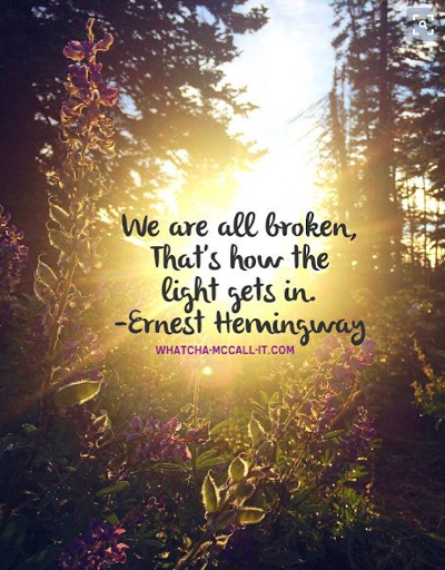 pin hemingway broken light