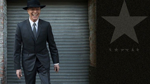 One of the last photos taken of David Bowie