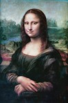 The Mona Lisa hangs in the Louvre, in Paris. photo from pixabay