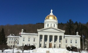 The Vermont Statehouse, Montpelier