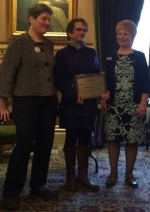 Last week, I was recognized for my work with a 2016 Restorative Justice Communicator Award, presented by the Community Justice Network of Vermont.