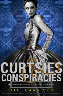 book curtsies and conspiracies