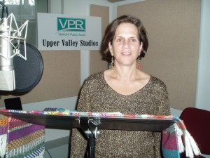 Recording at VPR's Upper Valley Studio.