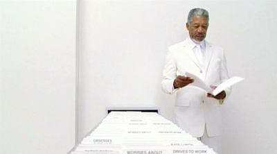 Morgan Freeman as God in Bruce Almighty, 2003