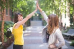 Does your client prefer a high five?
