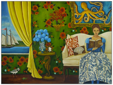 Summer Reading II by Catherine Nolin