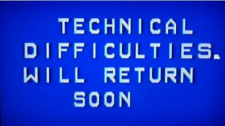 tech difficulties
