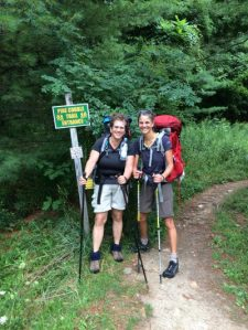 On August 15, 2016, we started our hike from Massachusetts to Canada on The Long Trail.