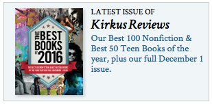 Kirkus 2016 Best Fiction Books