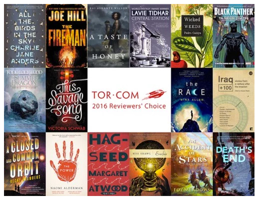 Tor.com Reviewers' Choice: The Best Books of 2016