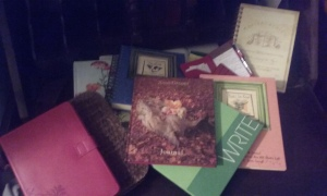 Small sampling of my journals and notebooks