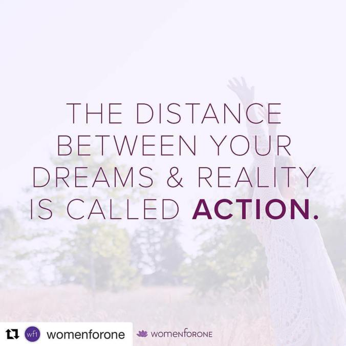 Take action today to make your dreams your reality: womenforone.com/5keys