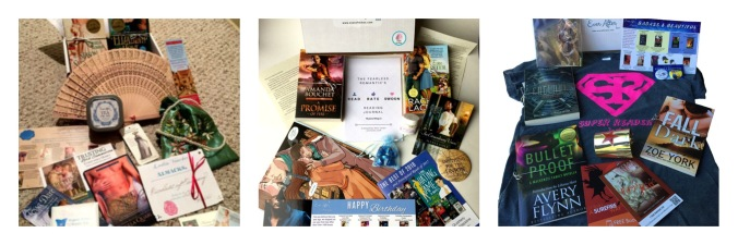 Examples of the ever After boxes , the Regency Ball, The Birthday Box and the