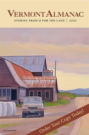 Cover Art of Vermont Almanac 1